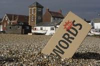 Word_box_on_beach